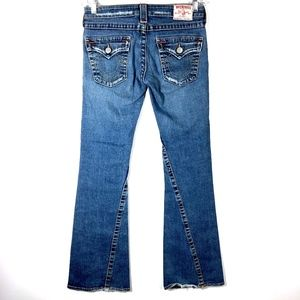True Religion Jeans Joey Twisted Flare Womens 28